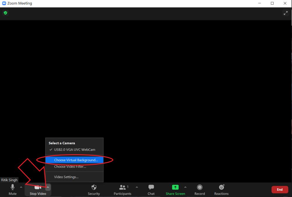 4. Cara Membuat Background Blur di Zoom