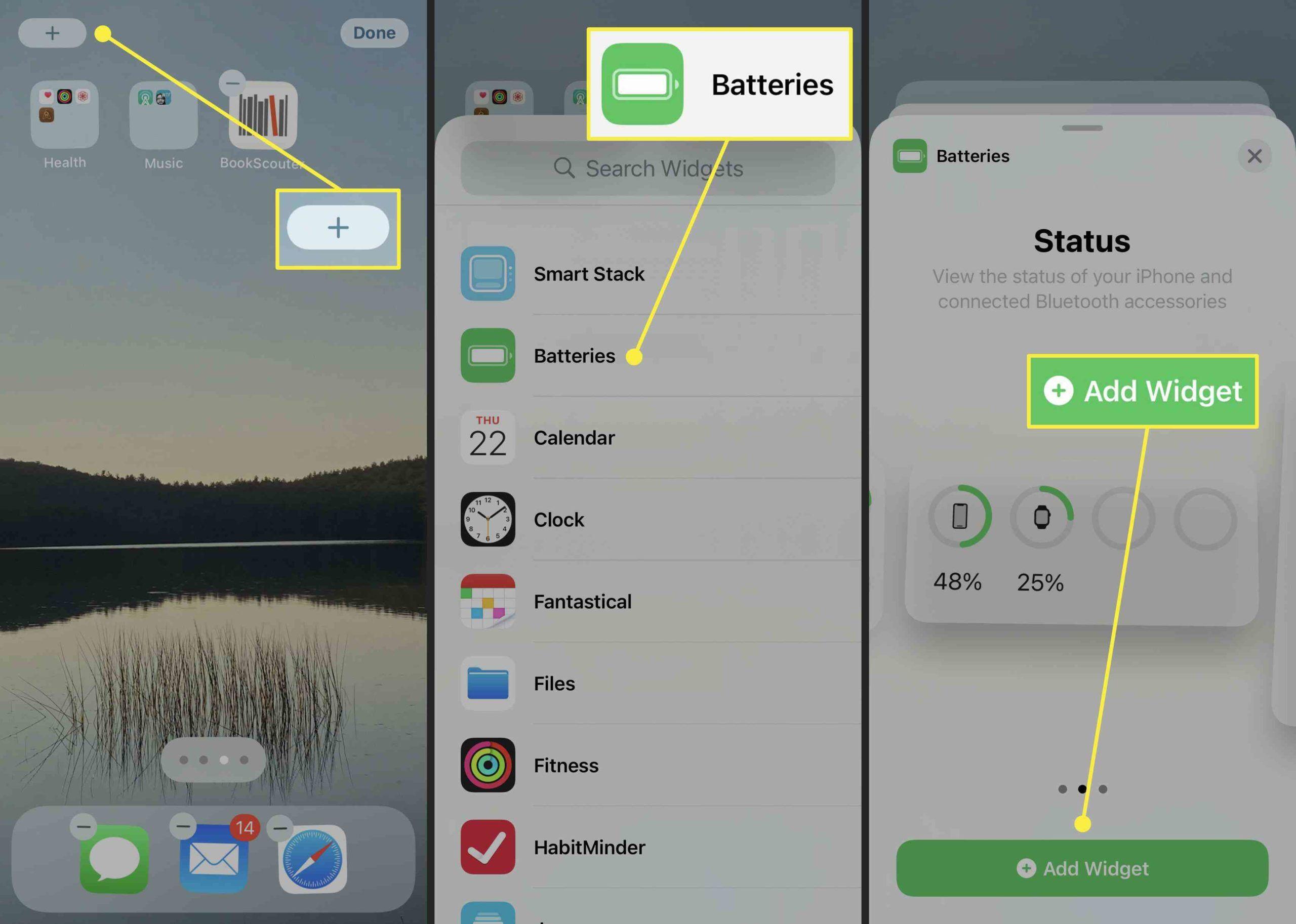 2. Cara Menampilkan Persentase Baterai di iPhone 12 scaled
