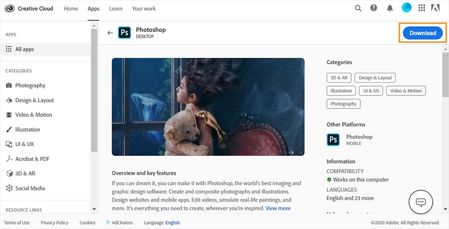 Cara Download Aplikasi Photoshop di Laptop
