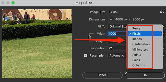 2. Cara Resize Foto di Photoshop
