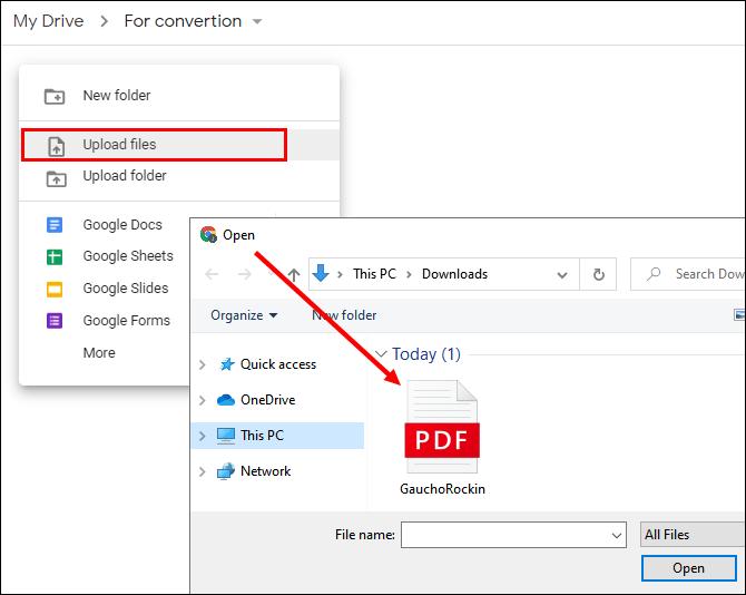 3. Cara Merubah PDF ke Word Dengan Google Docs