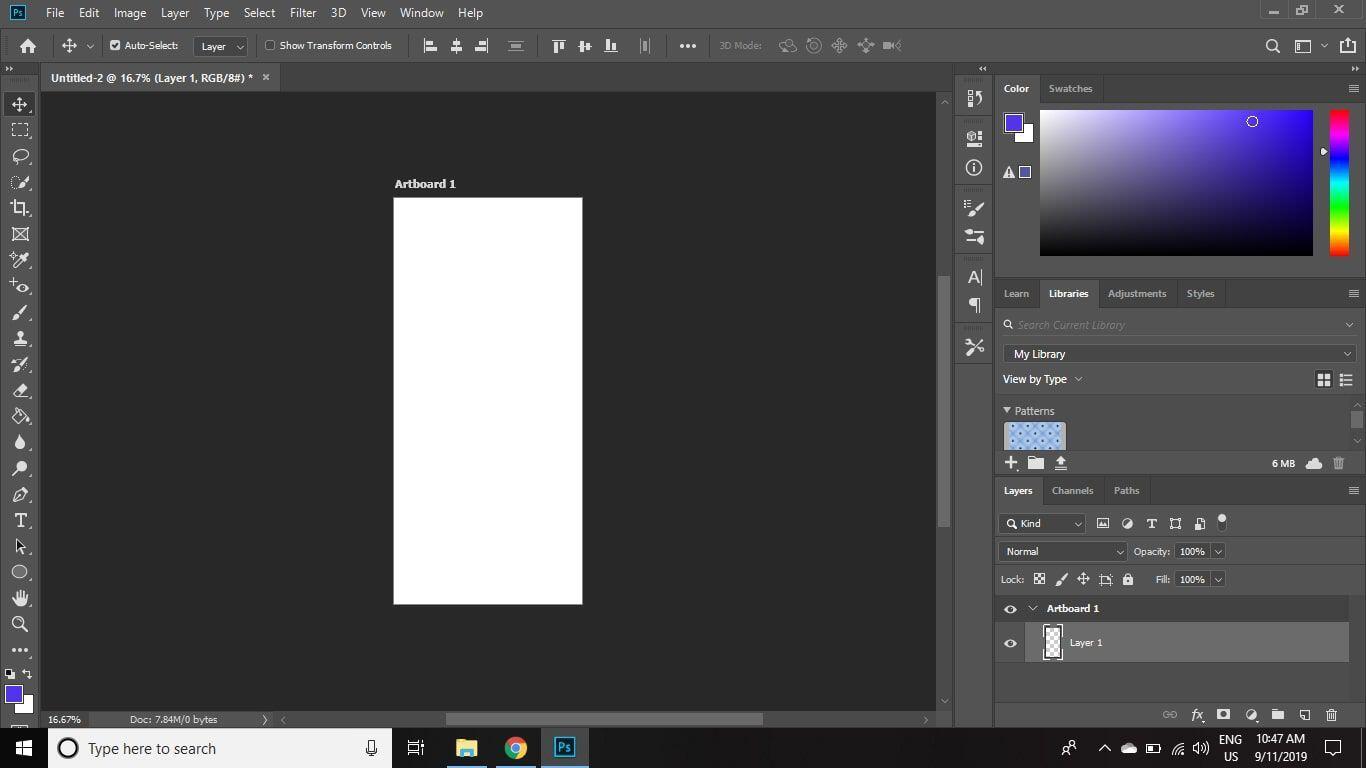 4. Cara Menambahkan Artboard di Photoshop