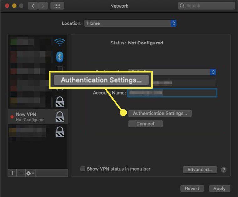 4. Cara Mengaktifkan VPN di MacBook