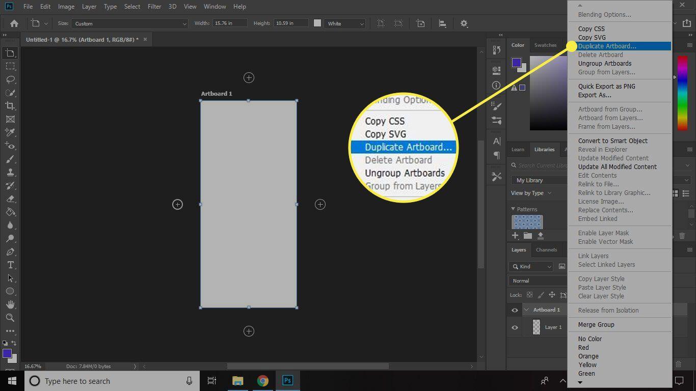 5. Cara Menambahkan Artboard di Photoshop