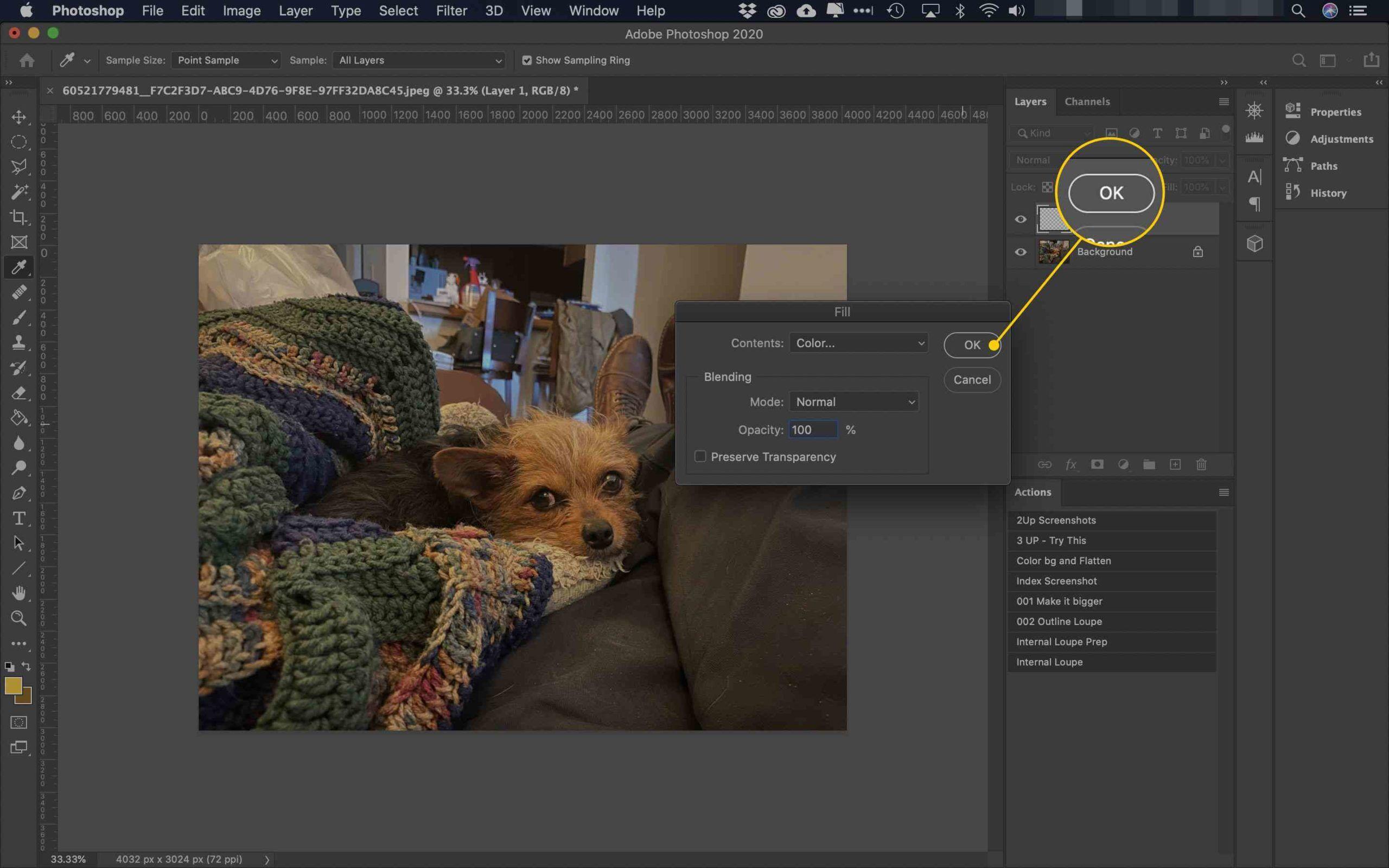 5. Cara Menggunakan Blending Mode Photoshop scaled