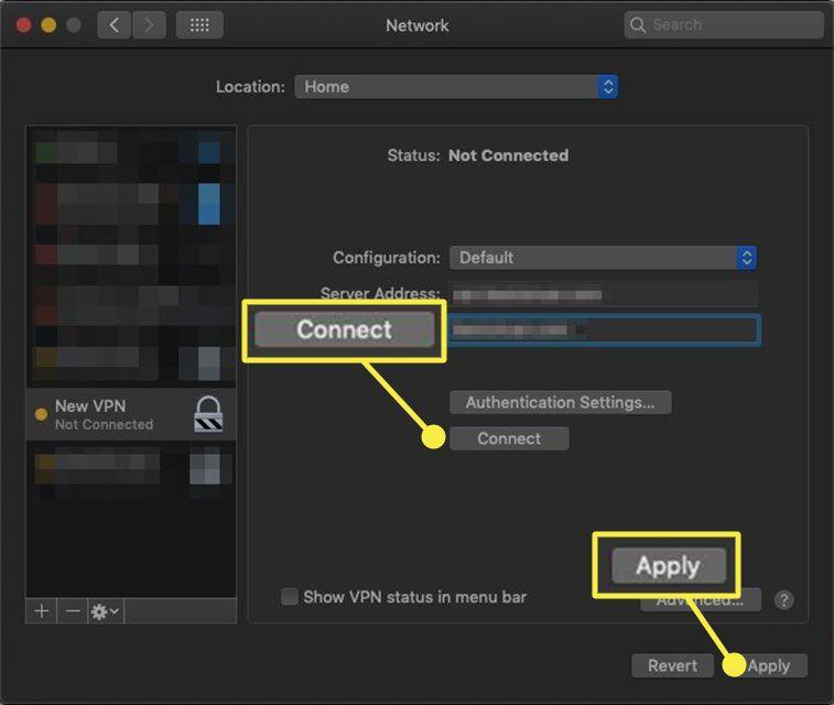 6. Cara Mengaktifkan VPN di MacBook