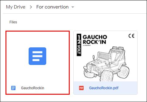 8. Cara Merubah PDF ke Word Dengan Google Docs