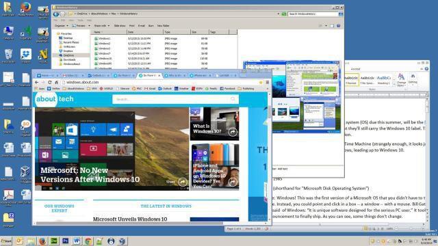 8. Sejarah Sistem Operasi Windows