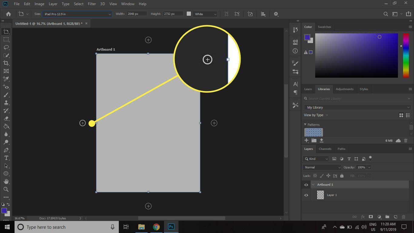 9. Cara Menambahkan Artboard di Photoshop