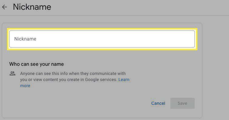10. Cara Mengganti Nama di Google Meet