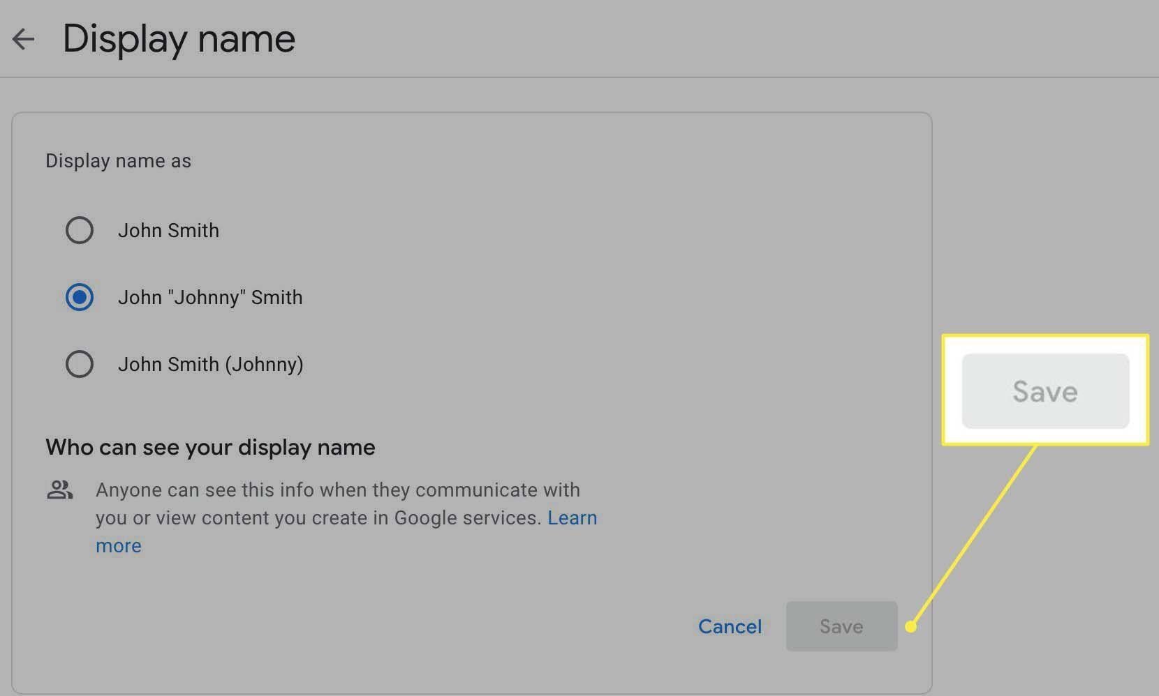 12. Cara Mengganti Nama di Google Meet