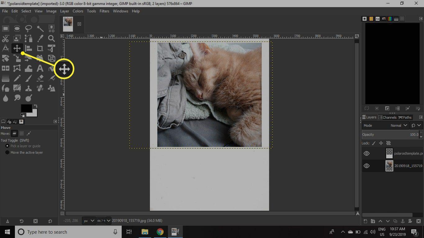 13. Frame Foto Polaroid