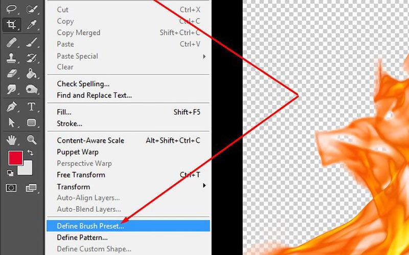 2. Cara Membuat Brush Photoshop