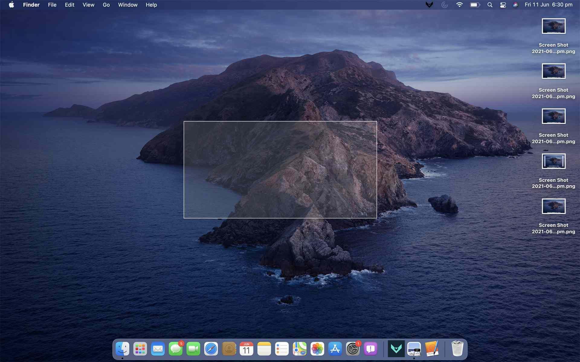 2. Cara Screenshot di MacBook Air