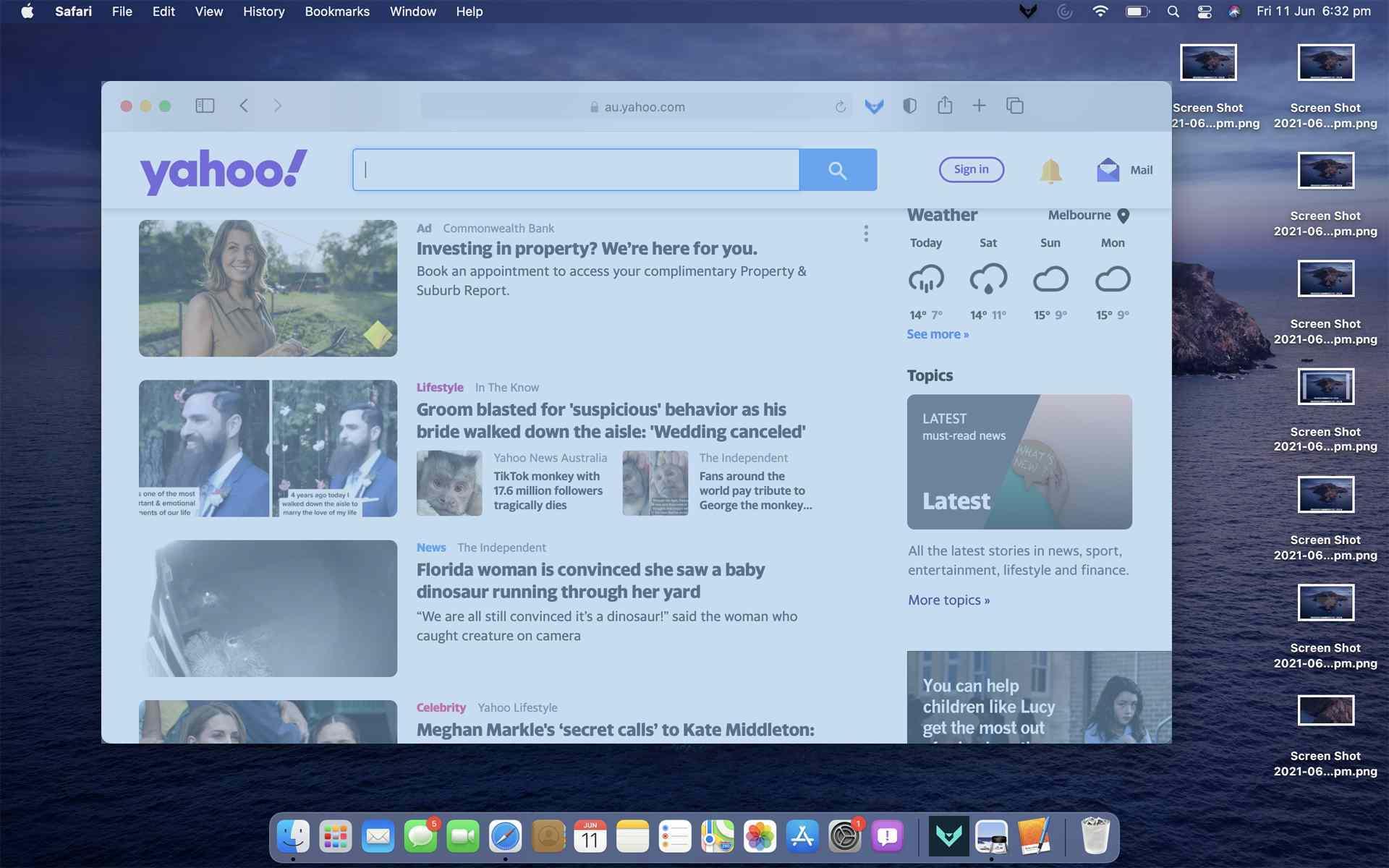 4. Cara Screenshot di MacBook Air