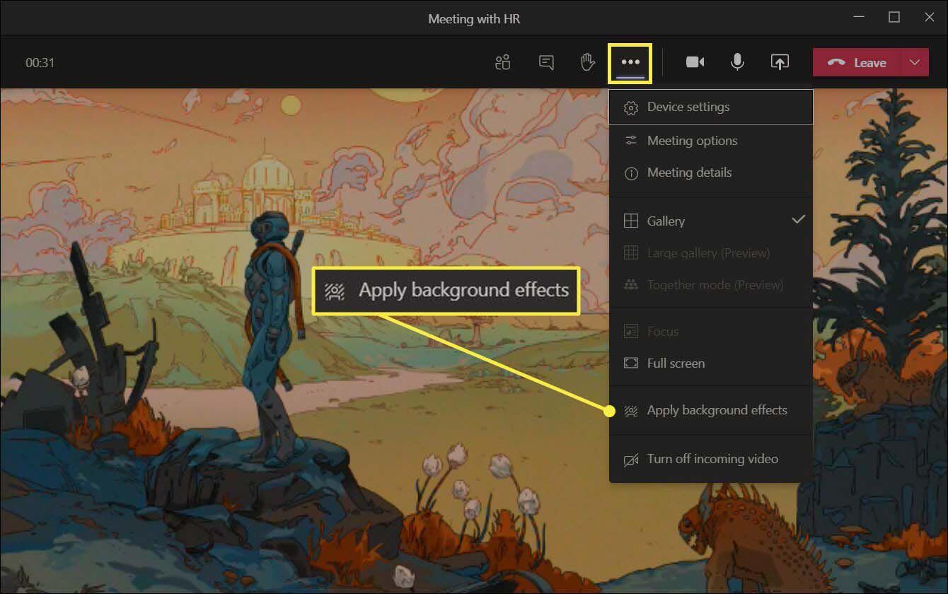 7. Cara Mengganti Background Microsoft Teams