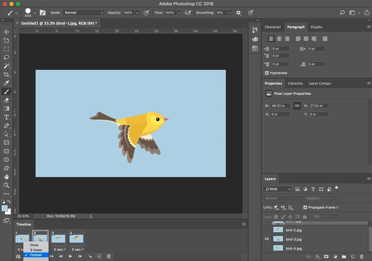 8. Cara Membuat Gif di Photoshop