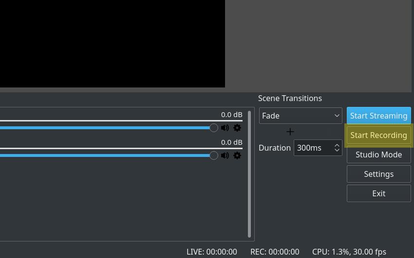 8. Cara Screen Record di Laptop Menggunakan OBS Studio