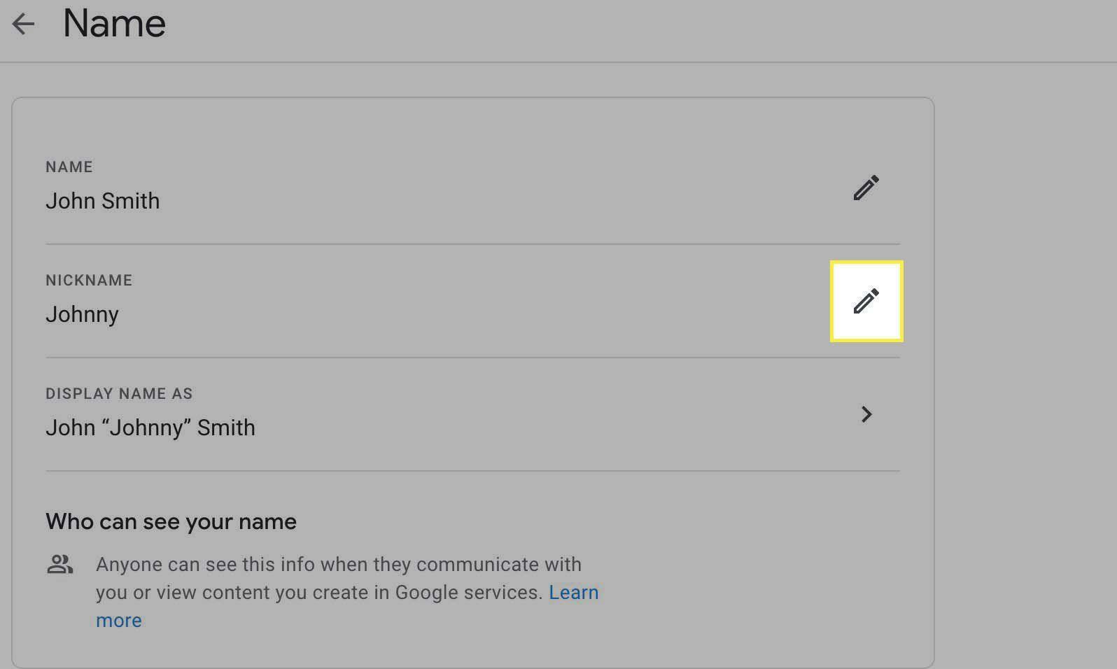 9. Cara Mengganti Nama di Google Meet