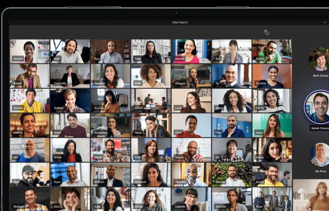 Cara Menampilkan Semua Peserta di Microsoft Teams-min