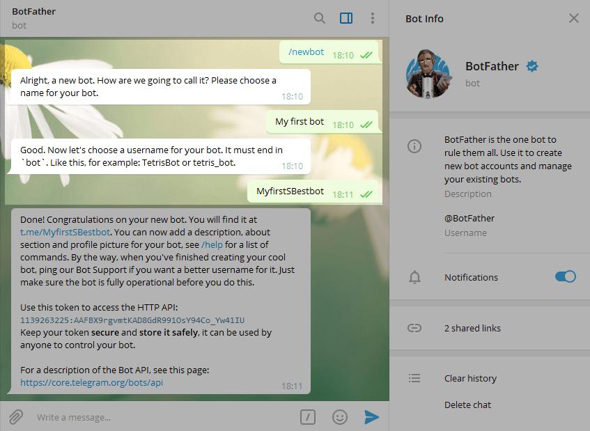 10. Cara Membuat Bot Telegram