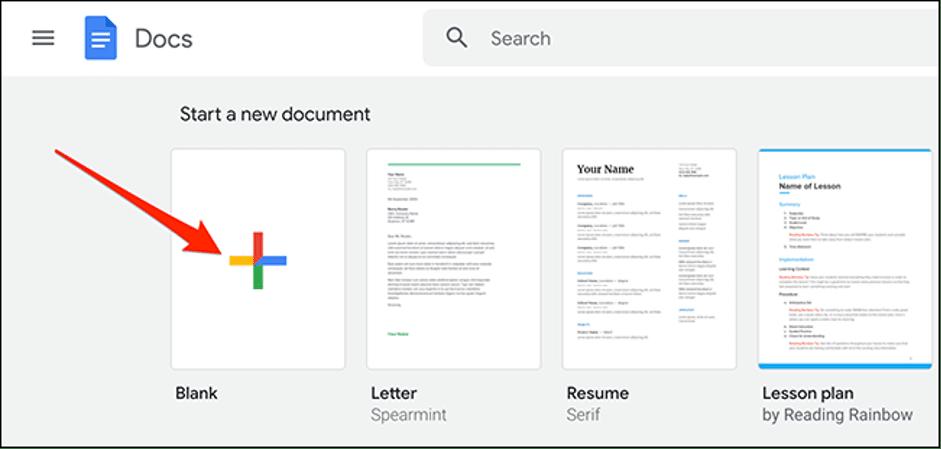 1. Cara Membuat Folder Google Docs