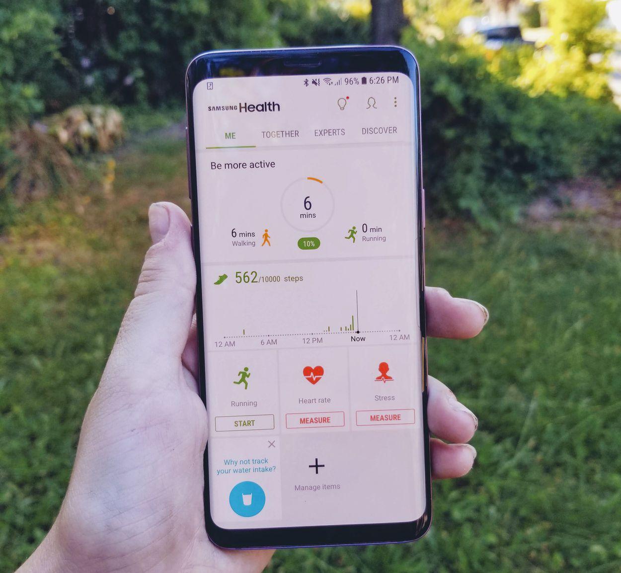 1. Cara Menggunakan Samsung Health