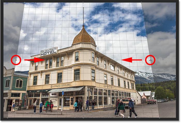 10. Cara Menggunakan Perspective Crop Tool Photoshop
