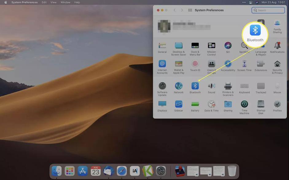 2. Cara Menghubungkan Magic Keyboard ke MacBook & Mac