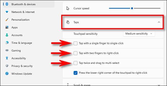 3. Cara Menonkatifkan Touchpad Windows 11