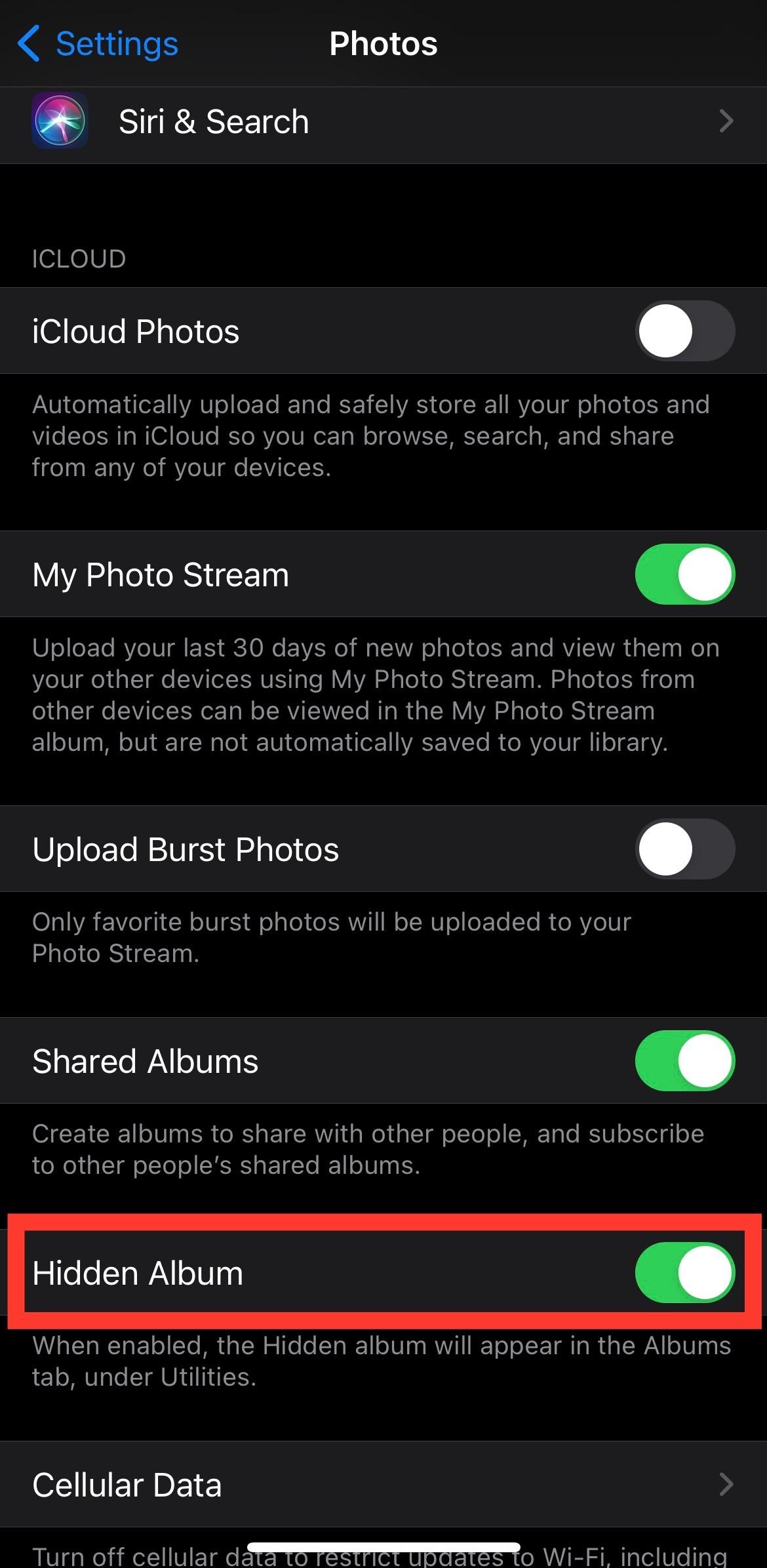 3. Cara Menyembunyikan Foto di iPhone