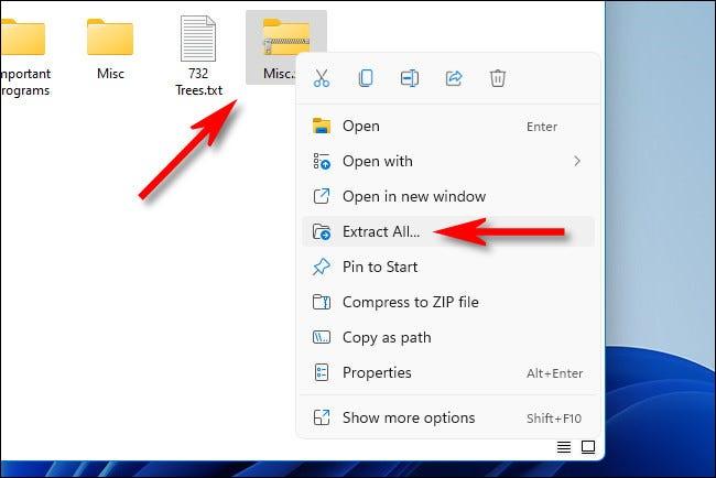 3. Cara Zip File di Laptop Windows 11