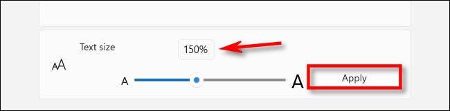 4. Cara Mengubah Ukuran Font di Windows 11