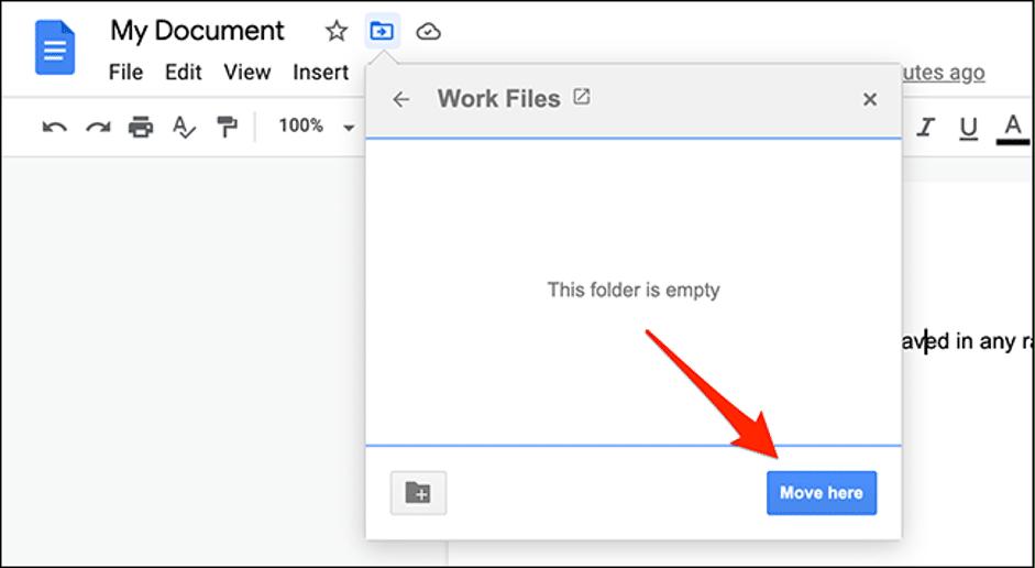 5. Cara Membuat Folder Google Docs