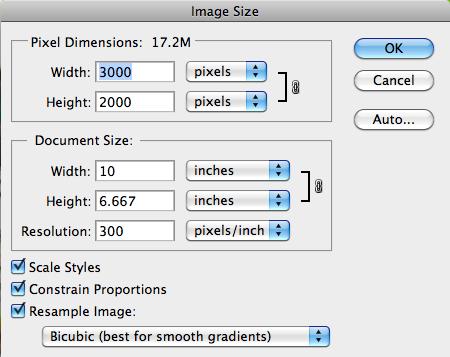 5. Cara Memperbesar Gambar di Photoshop