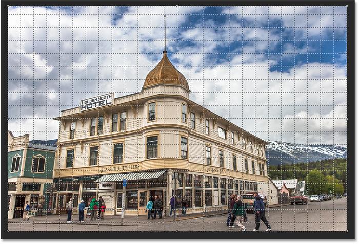 5. Cara Menggunakan Perspective Crop Tool Photoshop