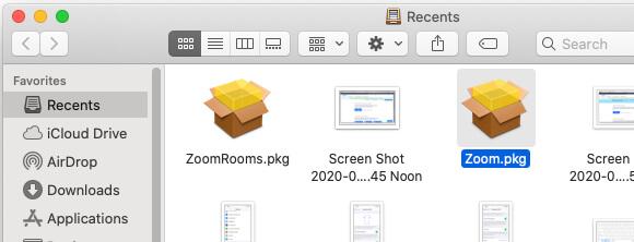 6. Cara Install Zoom di MacBook