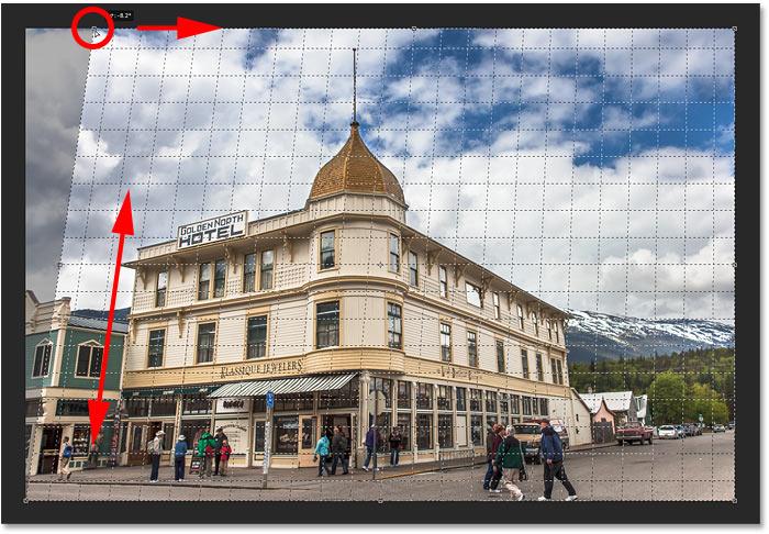 7. Cara Menggunakan Perspective Crop Tool Photoshop