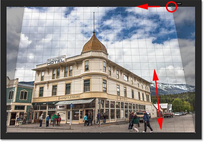 8. Cara Menggunakan Perspective Crop Tool Photoshop
