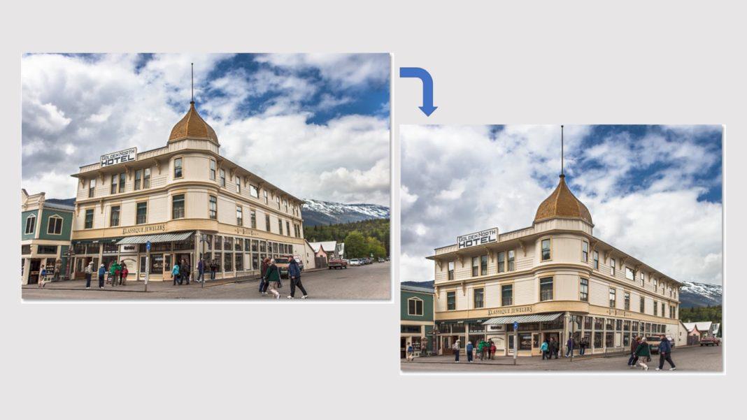Cara Menggunakan Perspective Crop Tool Photoshop