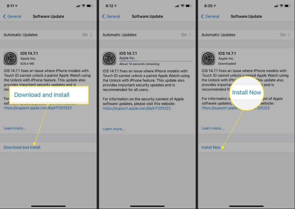 1. Cara Upgrade iOS 15