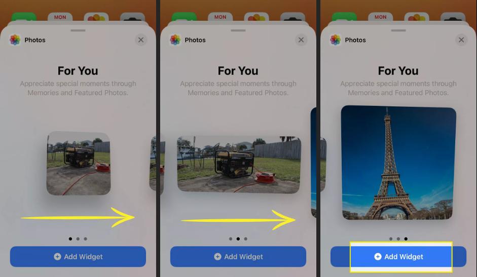 2. Cara Menambahkan Widget Foto iPhone