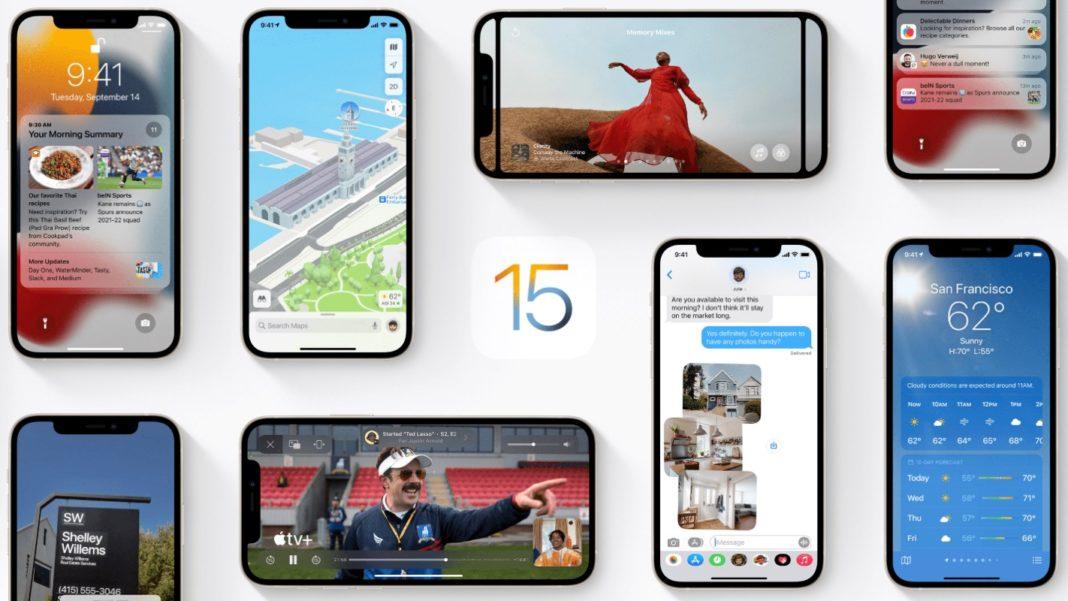 Cara Upgrade iOS 15